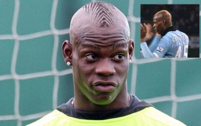 coupe cheveux Balotelli