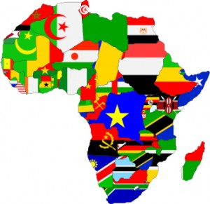 Foto da bandeira da liberia 2