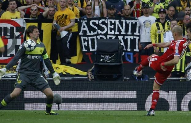 Robben , l'homme du match