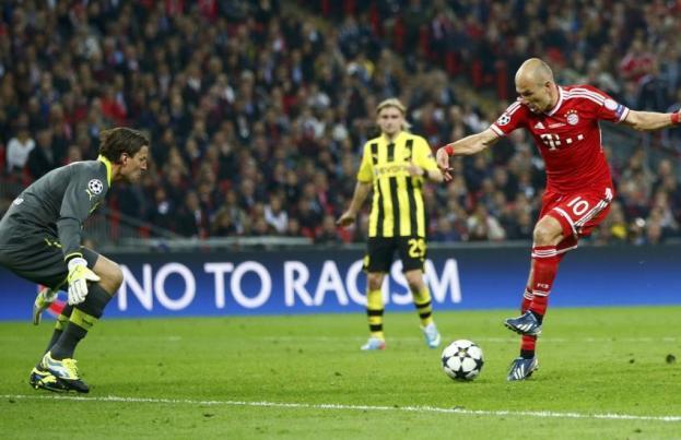 finale champions league 2013 , but Robben