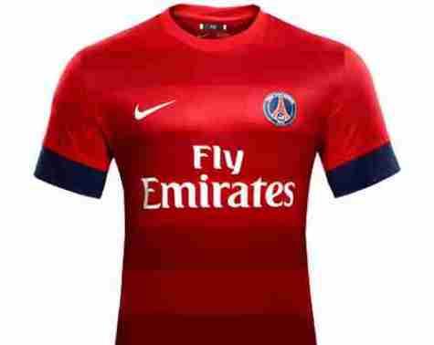 Le nouveau maillot du psg 2012 2013 b nin football for Maillot exterieur psg