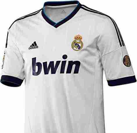 le nouveau maillot 2012 2013 du real madrid b nin football. Black Bedroom Furniture Sets. Home Design Ideas