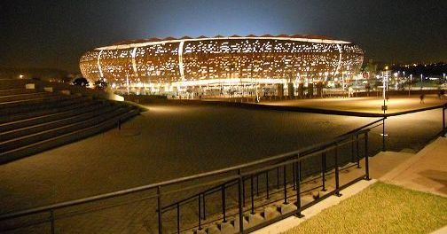 Le stade de johannesburg fnb stadium b nin football for Le stade du miroir