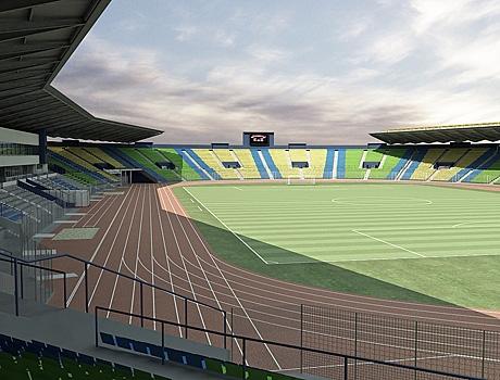 Le stade de franceville b nin football for Le stade du miroir