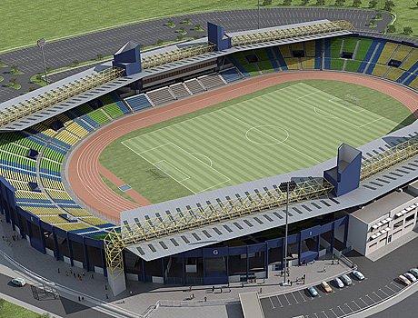 Le stade franceville au gabon b nin football for Le stade du miroir