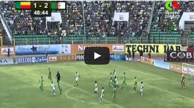 Vid o benin 1 3 alg rie complet qualification coupe - Algerie allemagne coupe du monde 2014 ...